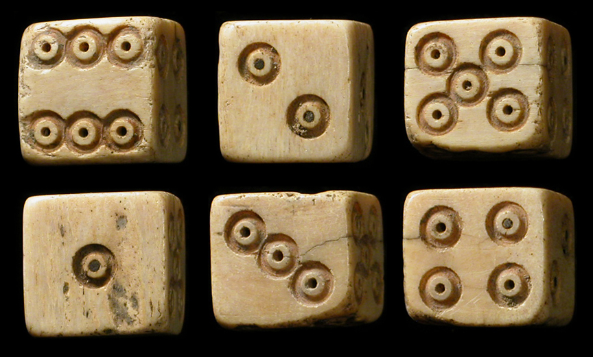 Oude dice games